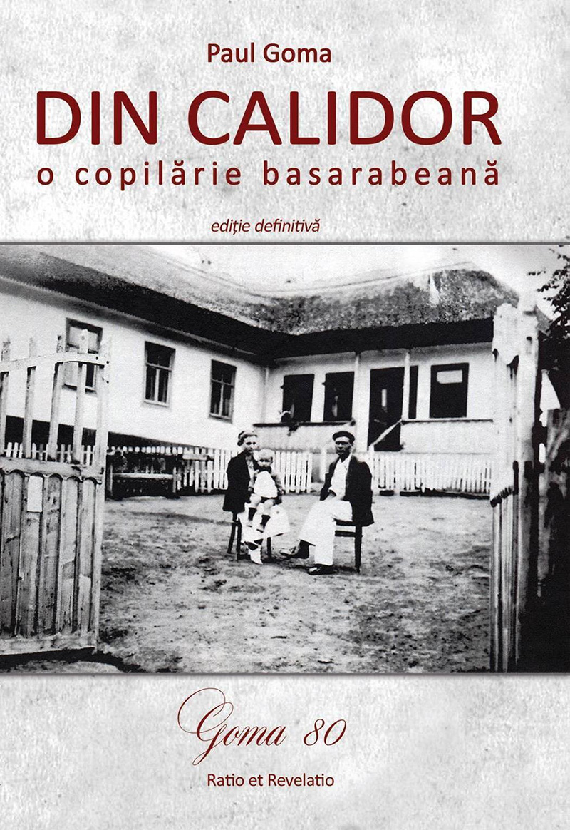 """""""Din calidor"""", o istorie sensibilizantă despre copilăria autorului în Basarabia"""