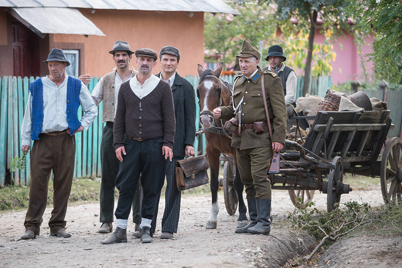 film românesc Moromeţii 2 pe platou