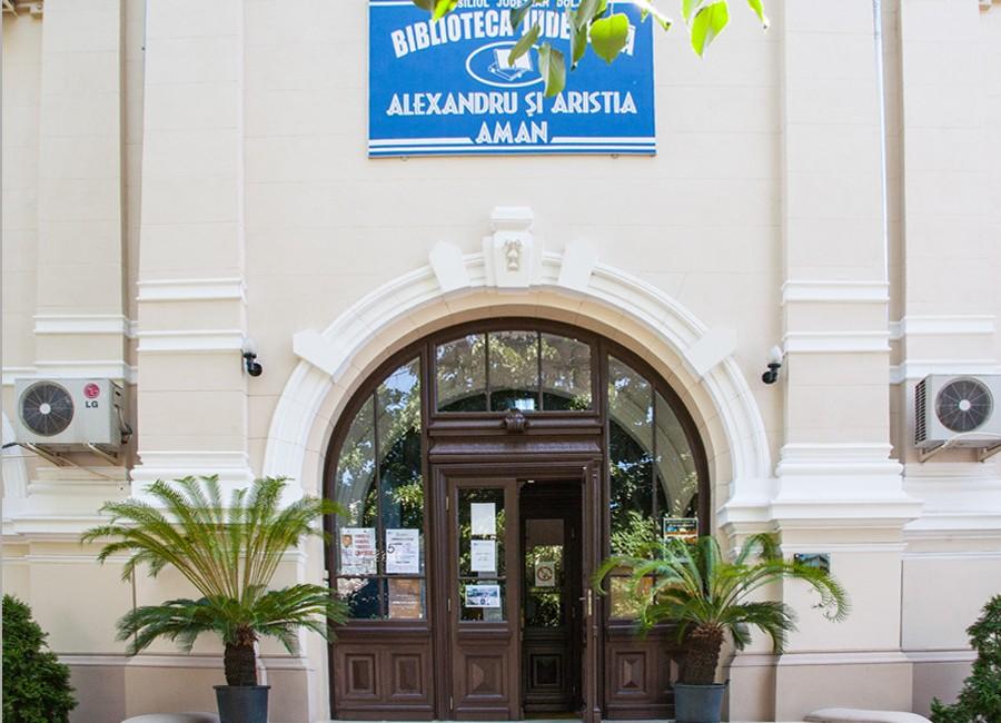 Biblioteca Aman, născută din neprețuita iubire față de Craiova și față de carte a cuplului Alexandru și Aristia Aman