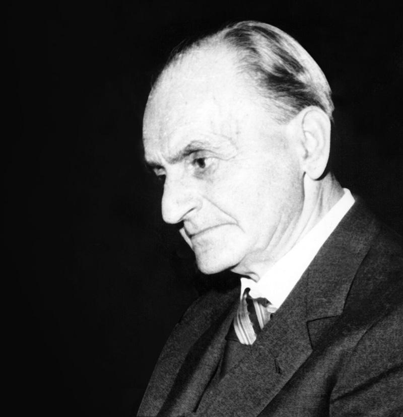Constantin Noica (1909 - 1987), fondatorul curentului de gândire și filosofie românească cunoscut drept Şcoala de la Păltiniș