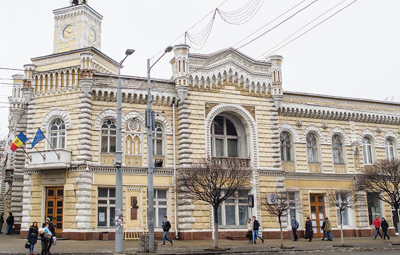 Edificiul Primăriei Chișinăului - una dintre principalele lucrări de arhitectură ale lui Bernardazzi