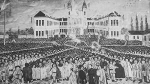 Ioan-Aurel Pop la Întâlnirile Matricei IV despre genocid cultural în România, românii şi rolul lor în istorie Adunarea de la Blaj