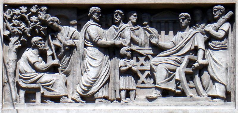 Mitologia romană - sursă primordială de mituri pentru creştinism