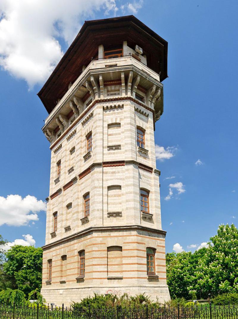 Turnul de apă - inovație inginerească proiectată de Alexandru Bernardazzi