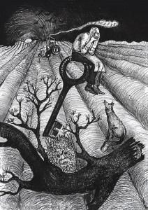 """""""Păstrătorul cheii"""" din cartea Povestea saşilor, de Ruxandra Hurezean"""