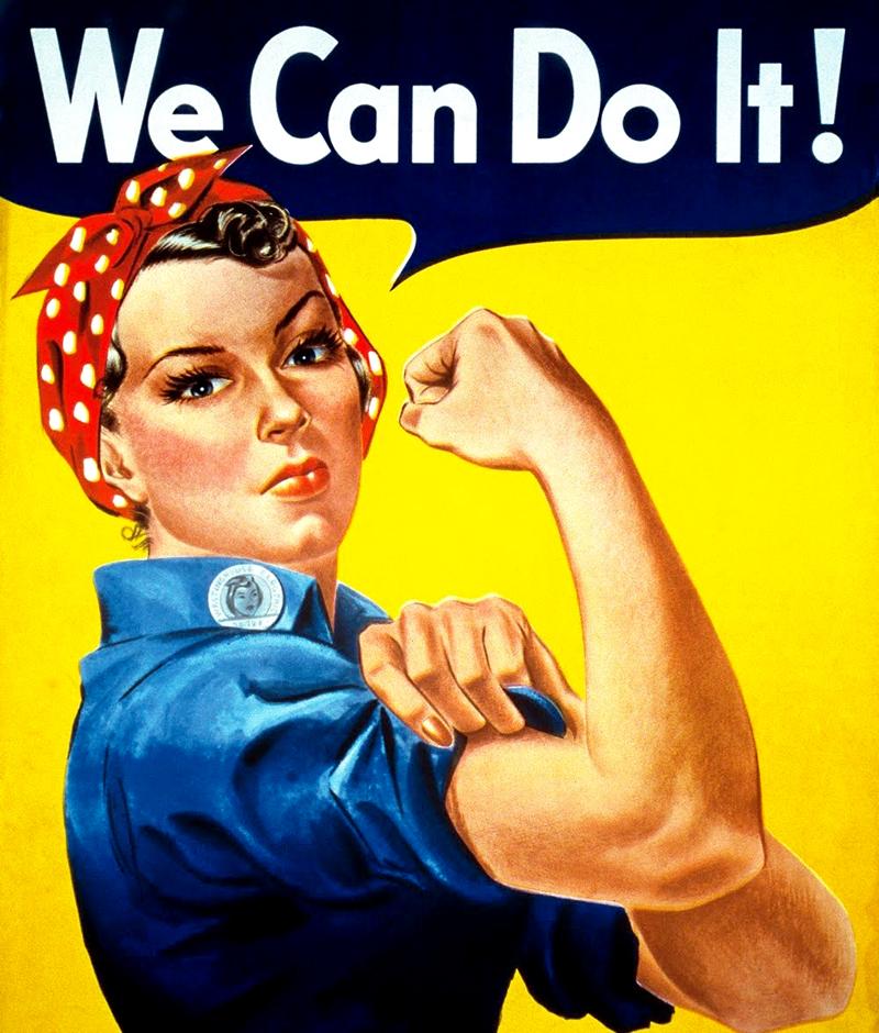 """Femeia """"masculină"""", o imagine frecventă într-o societate (post-)industrială"""