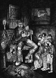 """Ilustraţie din cartea """"Povestea saşilor din Transilvania"""", de Ruxandra Hurezean"""