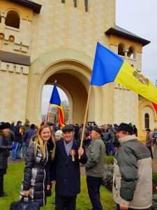 Întâlnire de istorie. Români din Basarabia la Alba Iulia de Ziua Națională a României