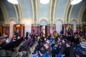 Sala Unirii, locul unde am realizat Lansarea Revistei Matricea Românească