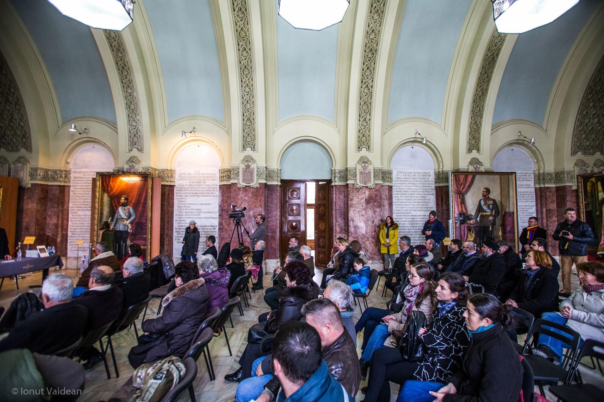 Sala Unirii din Alba Iulia, locul unde am realizat Lansarea Revistei Matricea Românească și ne-am rescris propria istorie