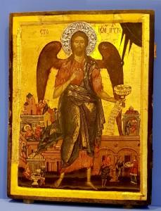 Sfântul Ioan Botezătorul - o relicvă specială a Museikon - ului