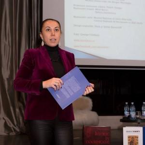Cristina Bogdan lansare revista Museikon istorie arta