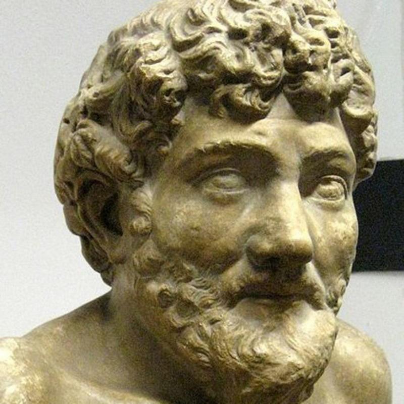Esop, unul dintre cei mai renumiți autori de fabulă din istoria lumii