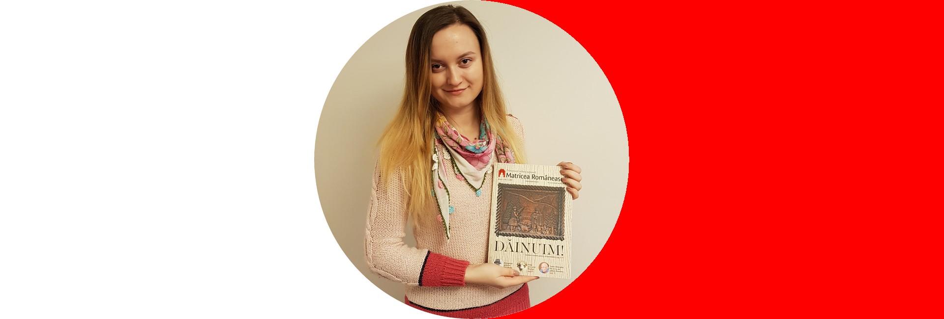 un mărţişor român despre o basarabeancă români basarabeni Basarabia slider