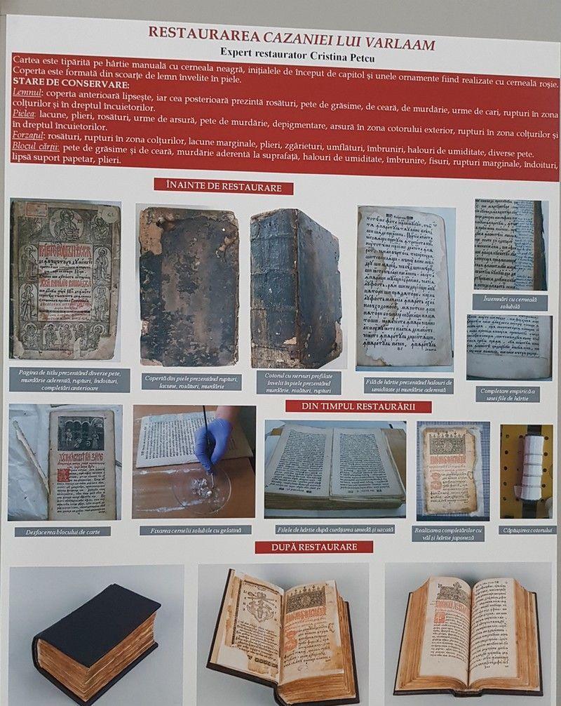 expoziţie MNIR Cazania lui Varlaam limba română Evul Mediu a dus românii spre Marea Unire interior 2