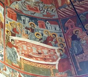 mănăstirea Hodoş-Bodrog Arad Marea Unire Ioan Ignatie Papp Vasile Goldiş Cina cea de Taină cu raci