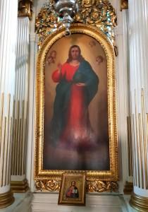 mănăstirea Hodoş-Bodrog Arad Marea Unire Ioan Ignatie Papp Vasile Goldiş Iisus interior