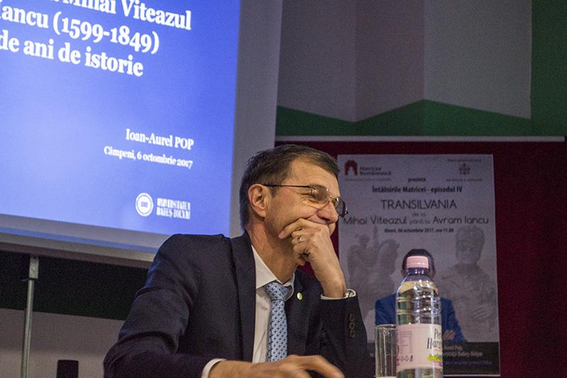Inspiraţie pentru tineri: Ioan-Aurel Pop, ales recent preşedintele Academiei Române. Profesorul a vorbit la Întâlnirile Matricei, în Ţara Moţilor