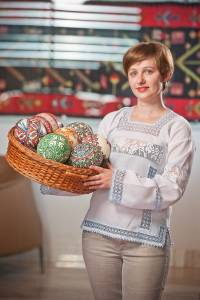 artistul plastic Ecaterina Savitsky arta Republica Moldova oua incondeiate interior 5