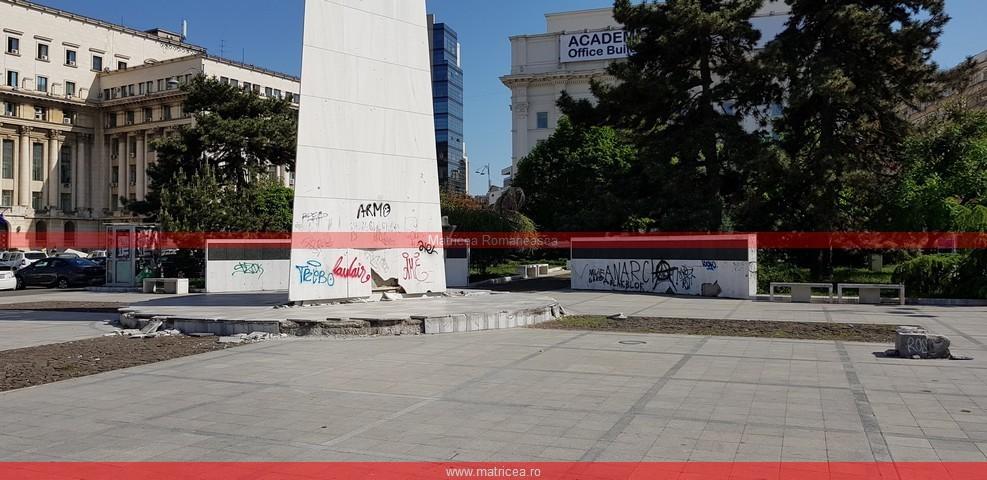 eroi Revoluţie Bucureşti profanare Memorialul Renaşterii (1)