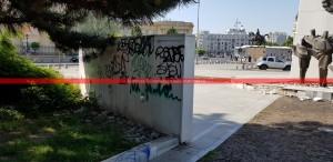 eroi Revoluţie Bucureşti profanare Memorialul Renaşterii (10)
