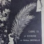 comemorare Generalul Berthelot Taica Burtălău şi misiunea franceză victorie contra duşman în drumul spre Marea Unire interior 1