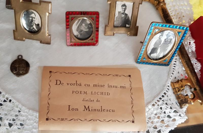 poem lichid De vorbă cu mine însumi Ion Minulescu mare poet simbolist român medaliat cu Legiunea de Onoare