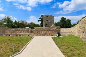 România100 Severin cetate medievală Litovoi gresie interior 2