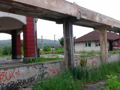 liniştea roţilor de tren provincie gara din Hunedoara slider