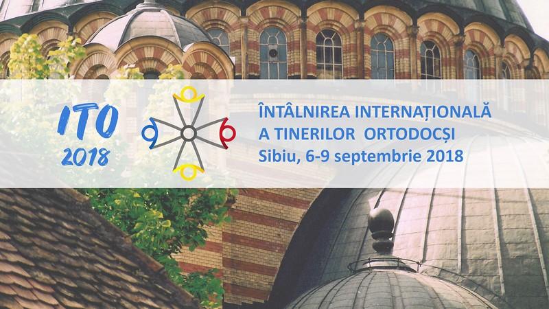 ITO 2018 Întâlnirea Tinerilor Ortodocşi Sibiu siglă