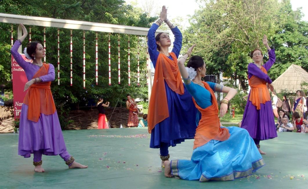 Carmen Coţovanu Pesantez festivalul Namaste India 2014
