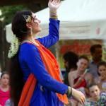 Carmen Coţovanu Pesantez festivalul Namaste India 2016
