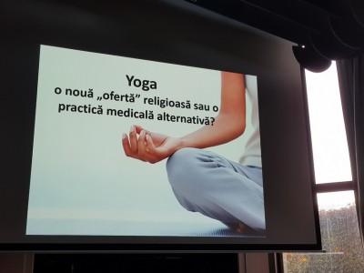 Conferinţa Întâlnirile Matricei despre yoga maladii sufleteşti hinduism şi creştinism slider