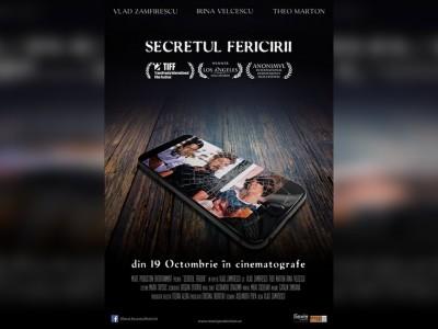recenzie Secretul Fericirii film românesc octombrie 2018 regia Vlad Zamfirescu distribuţia Irina Velcescu Theo Marton slider