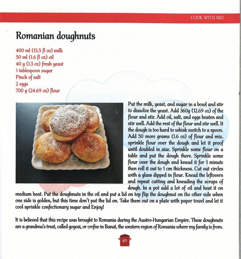 bucătărie românească băieţelul român care îi învaţă pe americani cum se găteşte româneşte reţetă gogoşi