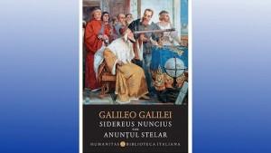Cartea lui Galileo Galilei apărută la Humanitas în colecția Biblioteca italiană