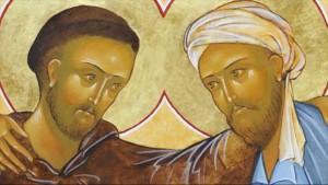 Călugărul creștin Francisc și sultanul musulman Al-Malik