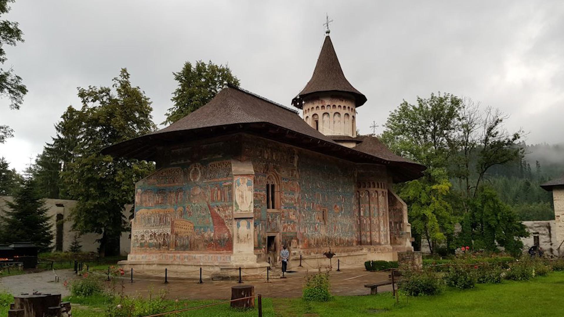 Biserica Mănăstirii Voroneț, ctitorită de Ștefan cel Mare și Sfânt în 1488