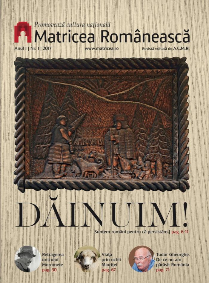Revista Matricea Românească – numărul 1