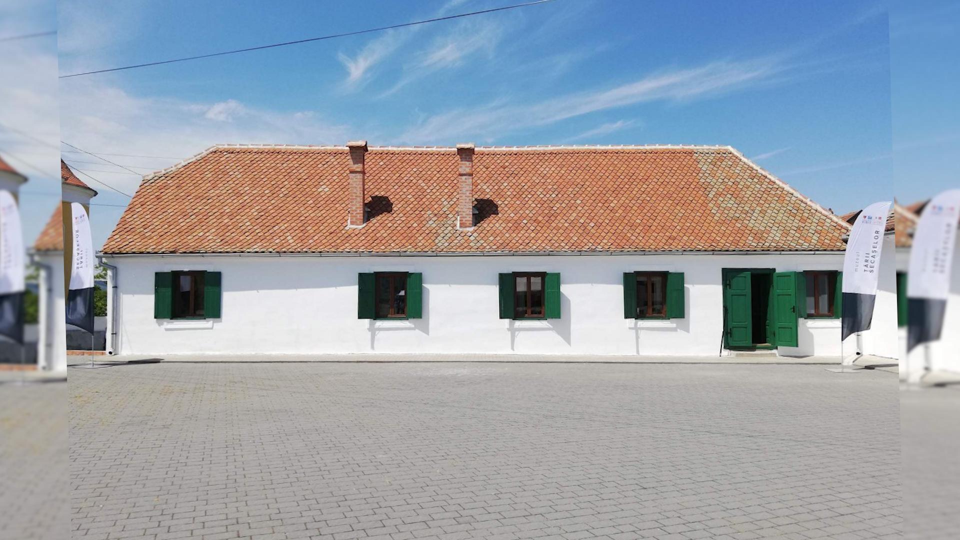 Sediul Muzeului Țării Secașelor, în Miercurea Sibiului