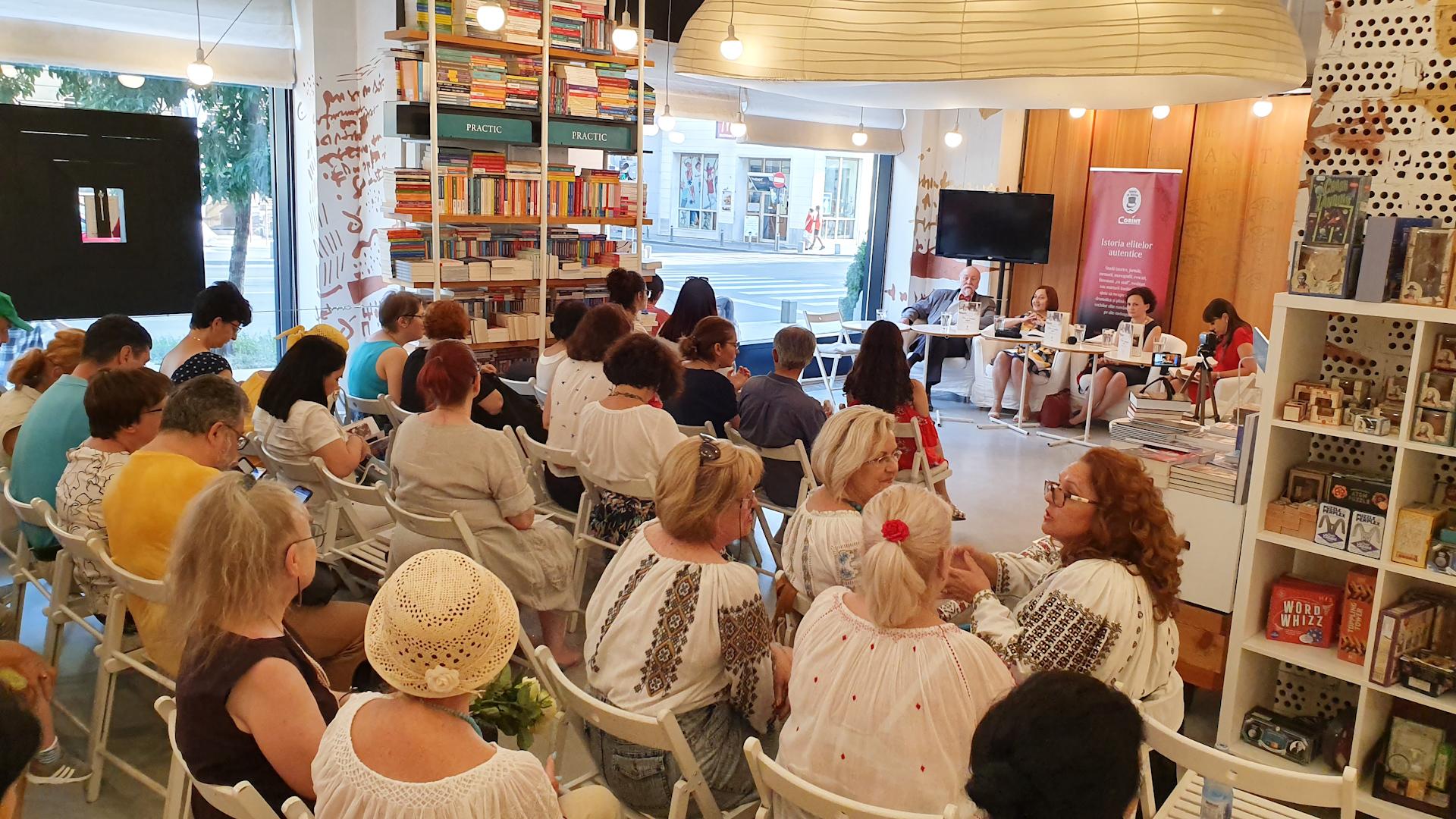Lansarea cărții, librăria Humanitas Cișmigiu, 2 iulie 2019