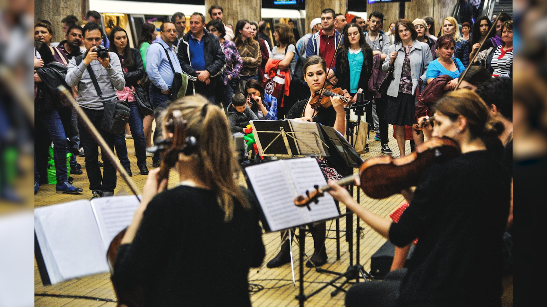Festivalul de muzică Clasică de la Metrou. Foto: https://www.facebook.com/artanumusca/