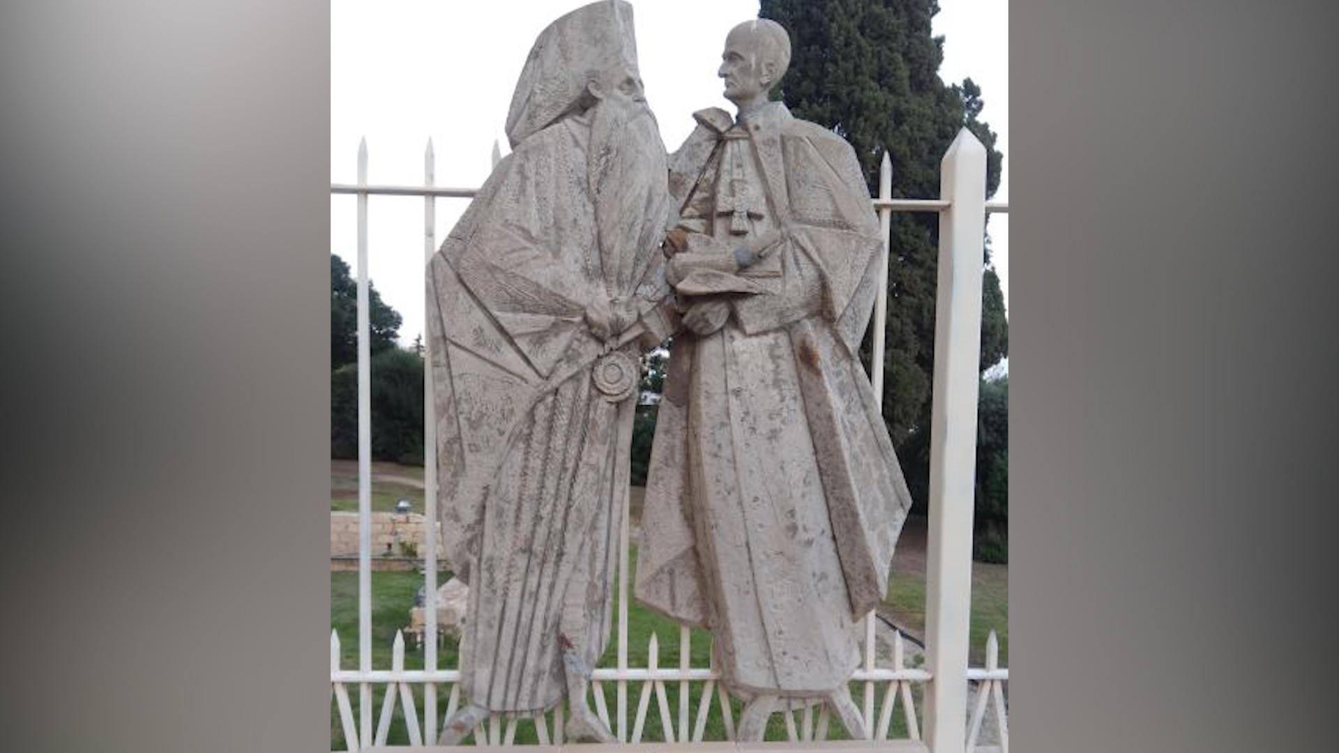 Celebrarea statuară a reconcilierii dintre Apus și Răsărit din 1964