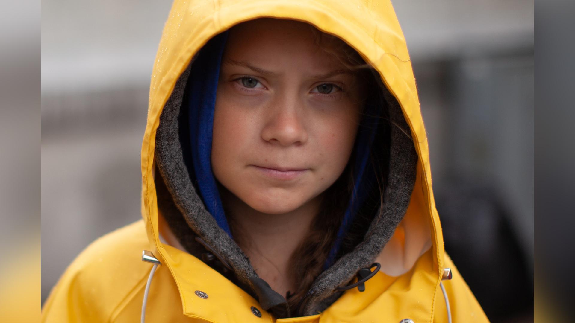 Activista suedeză adolescentă Greta Thunberg