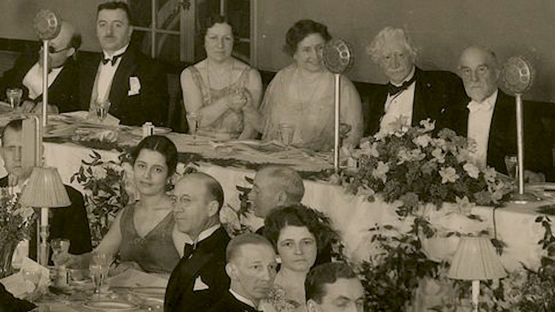 Instantaneu de la răsunătoarea recepție dată în cinstea României și a Reginei Maria la New York