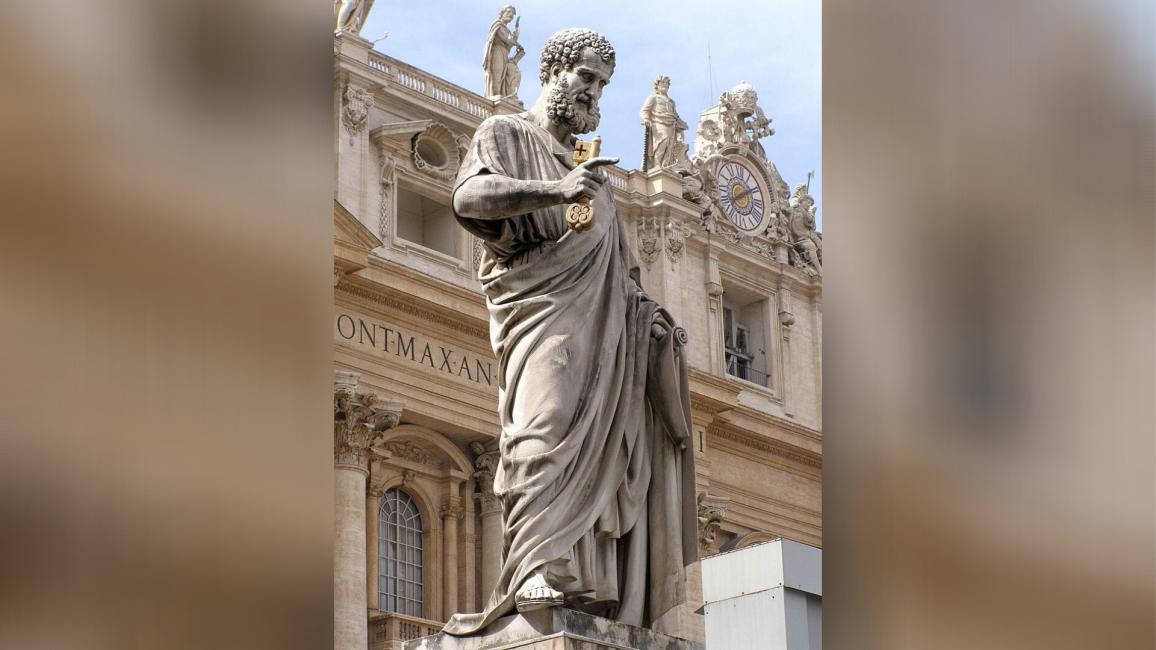 Statuia Sfântului Petru din Vatican
