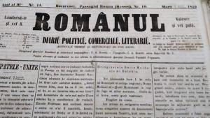 Ziarul lui C. A. Rosetti avea cel mai mare tiraj din epocă, 2000 de exemplare