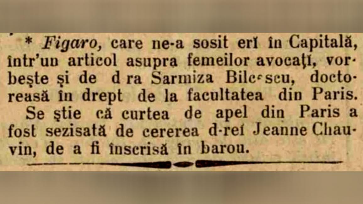 Știre apărută în ziarul Epoca din 15 octombrie 1897