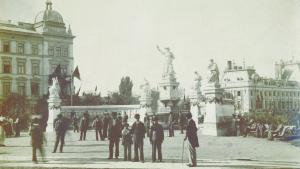 Fântâna Sărindar în anul 1896