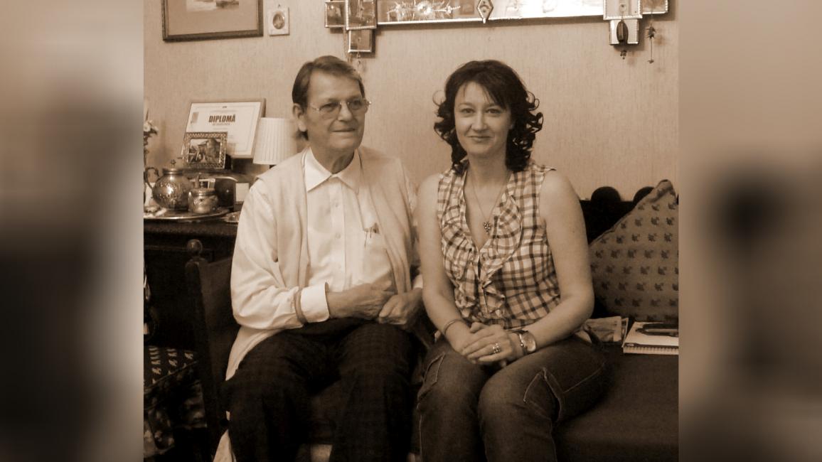 Alături de regizorul Pantelie Țuțuleasa